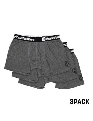 Boxerky Dynasty 3Pack - heather anthracite