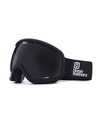 HF x Melon Optics snowboardové brýle Chief - all black/black matt