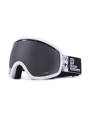 HF x Melon Optics snowboardové brýle Chief - white birch/silver chrome