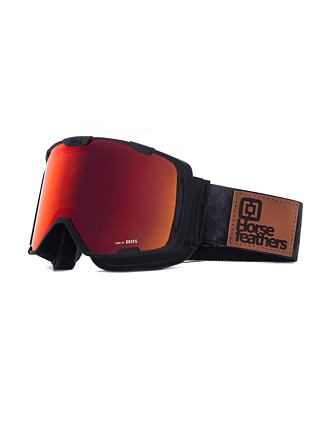 HF x Melon Optics snowboardové brýle Parker - gray camo/red chrome