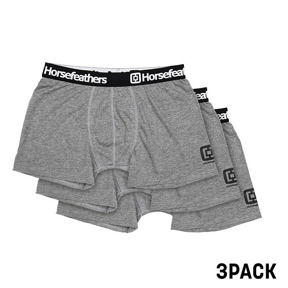 Boxerky Dynasty 3Pack - heather gray